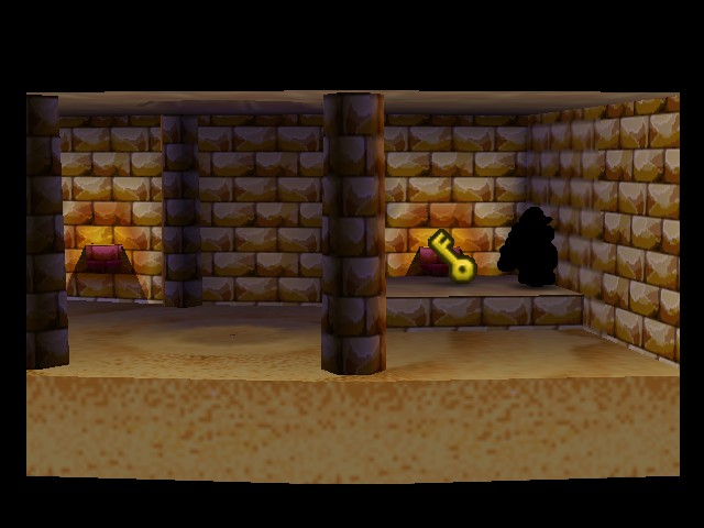 Paper Mario - Level  - Who leaves keys lying around a temple? - User Screenshot